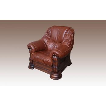 Кресло Grizly кожа