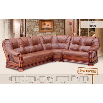 Угловой диван 4050 кожа