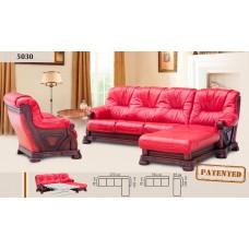 Кутовий диван 5030-2 шкіра