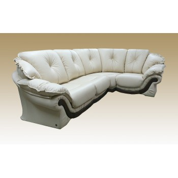 Угловой диван Loretta кожа