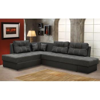 Угловой диван Rudy ткань